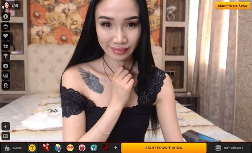 LiveJasmin - Hot Asian 1 on 1 shows paid with debit cards