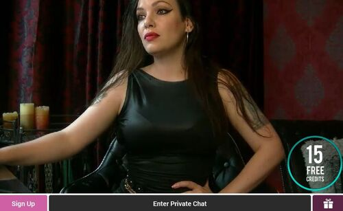 FetishGalaxy host dominatrixes and submissives in live cam shows